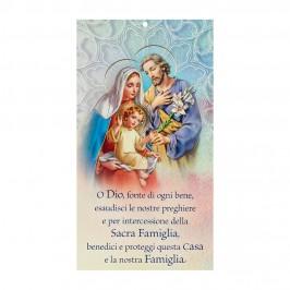 Cartoncino con Preghiera di...