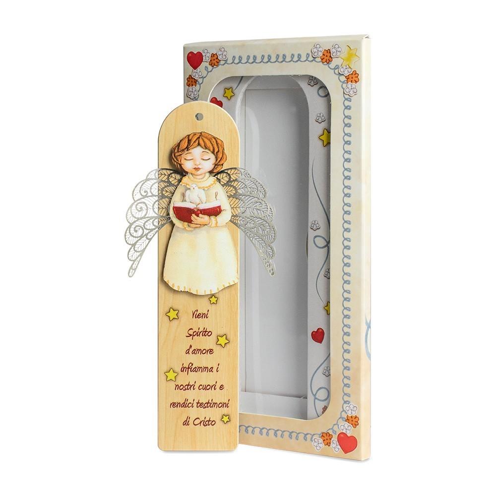 Magnete in Legno con Preghiera