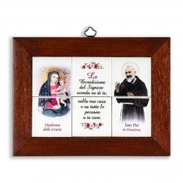 Quadretto San Pio e Madonna...