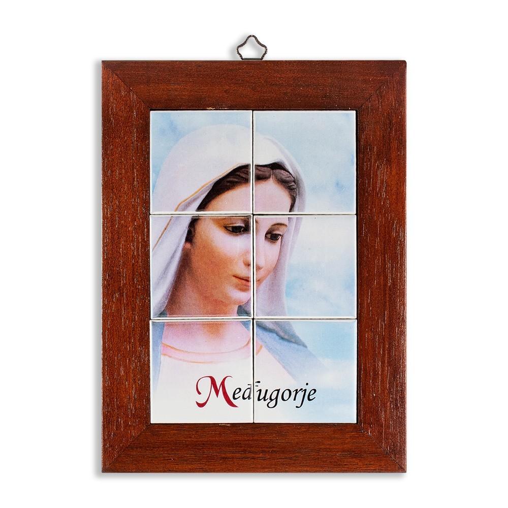 Quadretto Madonna Medjugorje