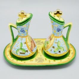 Ampolle Acqua e Vino in Ceramica
