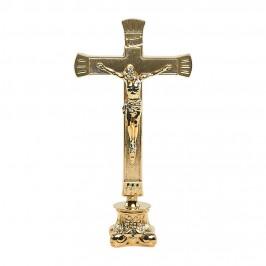 Croce da Mensa Ottone Dorato