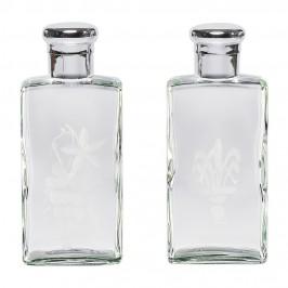 Coppia Bottiglie Acqua e Vino