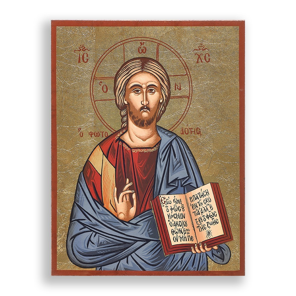 Icona Serigrafata Gesù Pantocratore