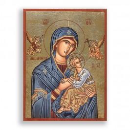 Icona in Legno Madonna con...