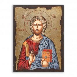 Icona in Legno Gesù...