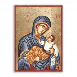 Icona Madonna con Bambino Serigrafata