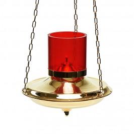 Lampada in Ottone Dorato