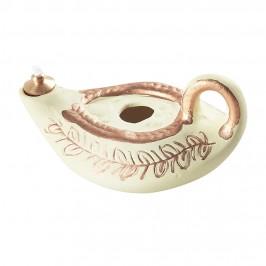 Lucerna in Ceramica