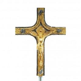 Croce Astile in Ottone Bicolore