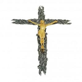 Crocifisso da Parete in Ottone