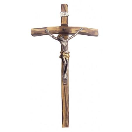 Croce Legno con Cristo