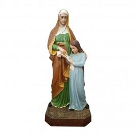Statua Sant'Anna h 100 cm