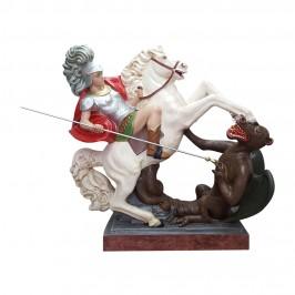 Statua San Giorgio a Cavallo