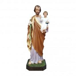 Statua San Giuseppe h 85 cm