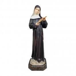 Statua Santa Rita h 80 cm