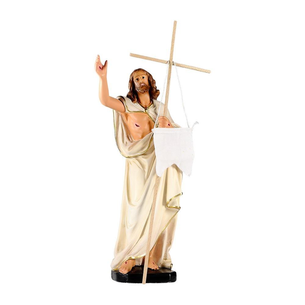 Statua Gesù Risorto in Gesso