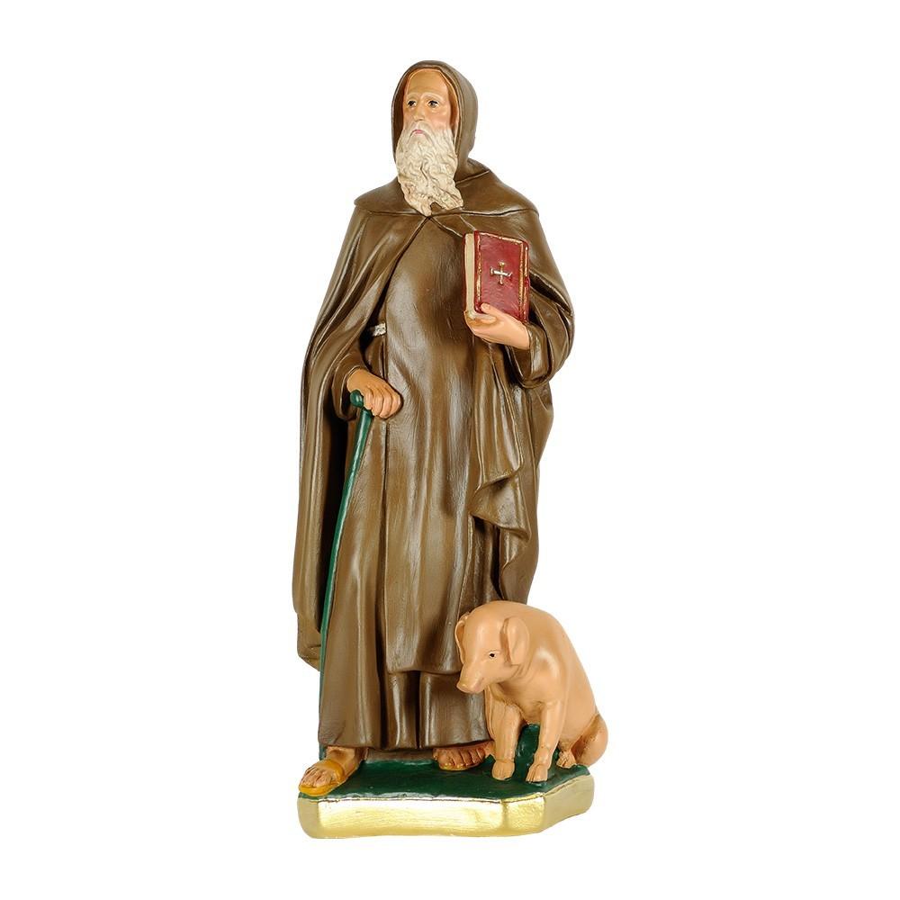 Statua Sant'Antonio Abate in Gesso
