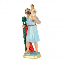 Statua San Cristofaro in Gesso