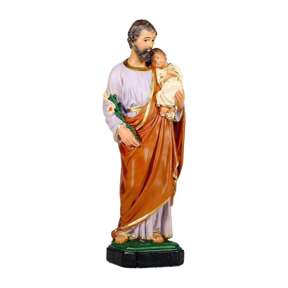 Statua San Guseppe in Gesso