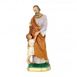 Statua San Giuseppe h 30 cm