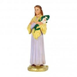 Statua Santa Maria Goretti in Gesso