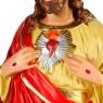 Statua Sacro Cuore di Gesù in Gesso