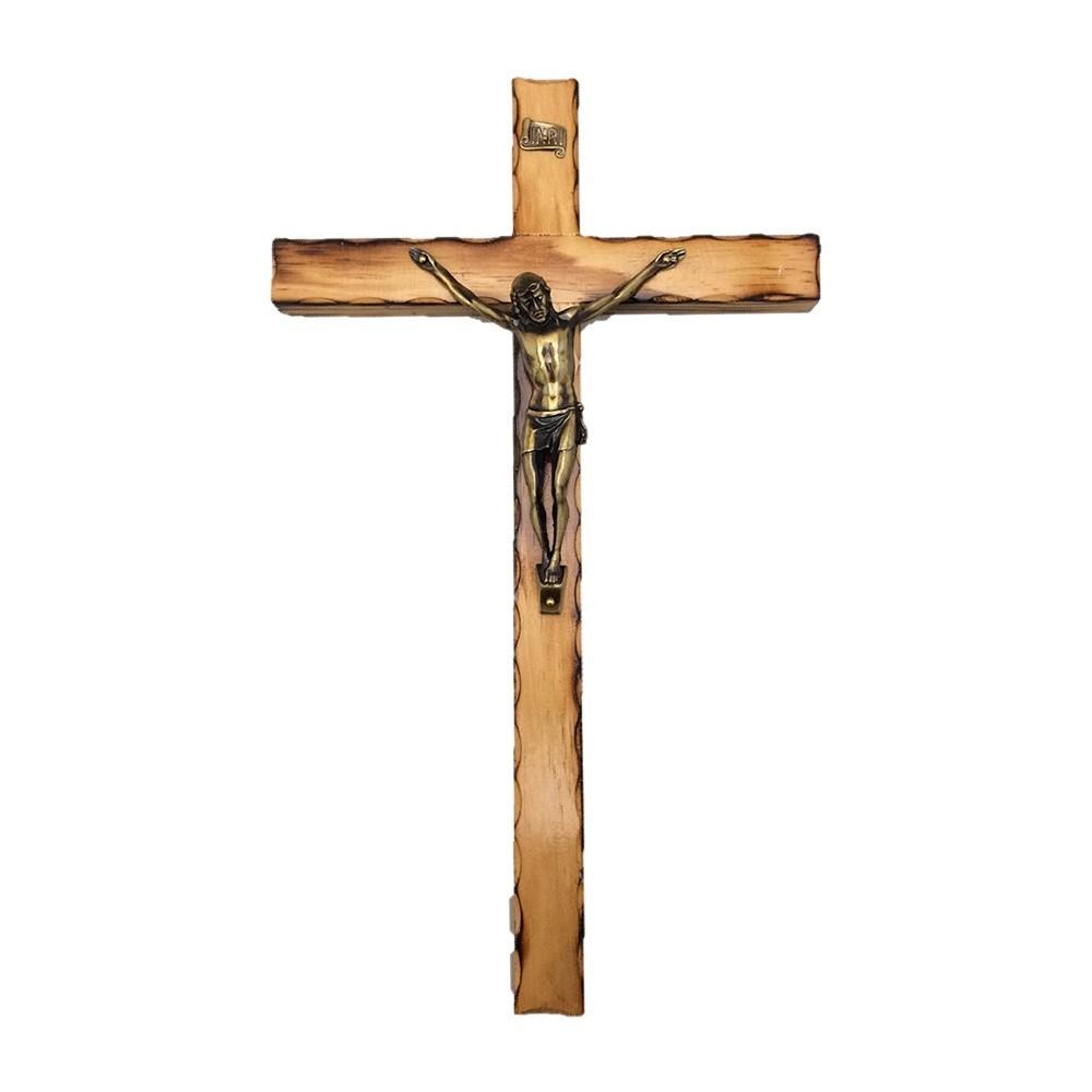 Croce con Corpo di Cristo h 35 cm