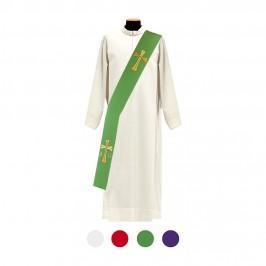 Stola Diacono Ricamo Croce