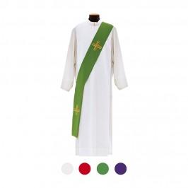 Stola Diacono con Ricamo Croce
