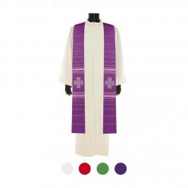 Stola Ricamo Croce Greca