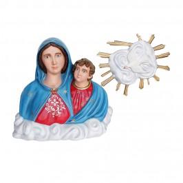 Statua Mezzo Busto Madonna...
