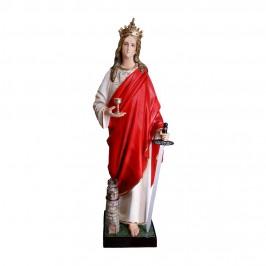Statua Santa Barbara alta...