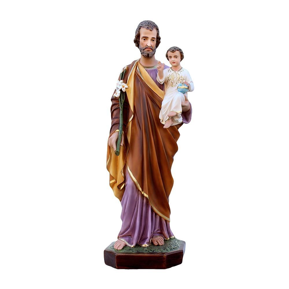 Statua San Giuseppe in Vetroresina