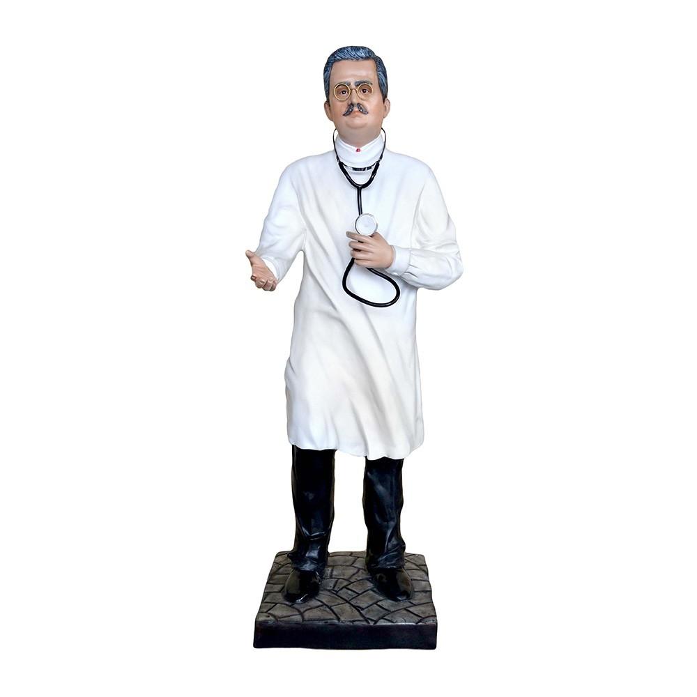 Statua San Giuseppe Moscati in Vetroresina