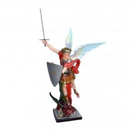 Statua San MIchele con...