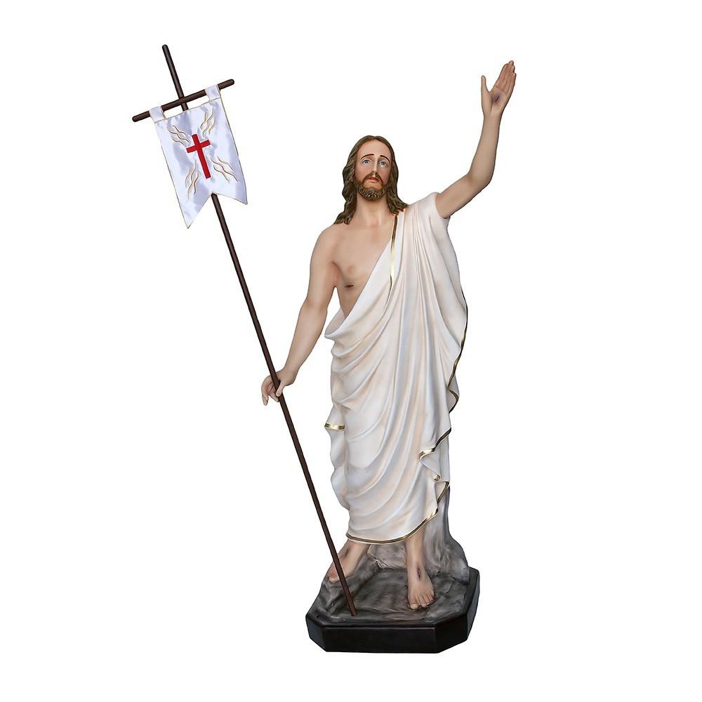 Statua Gesù Risorto alta 130 cm