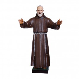 Statua San Pio h 110 cm in...