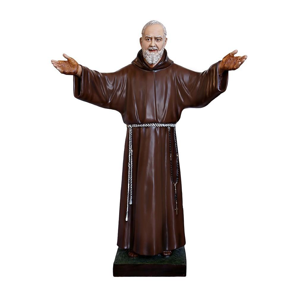 Statua San Pio alta 180 cm