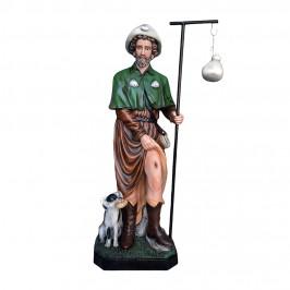 Statua San Rocco alta 160...