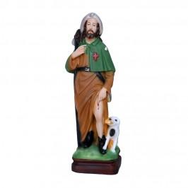 Statua San Rocco in Resina da 30 cm