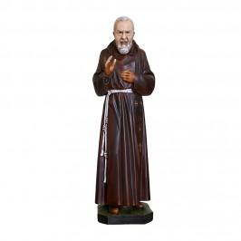 Statua San Pio in Resina h 80 cm