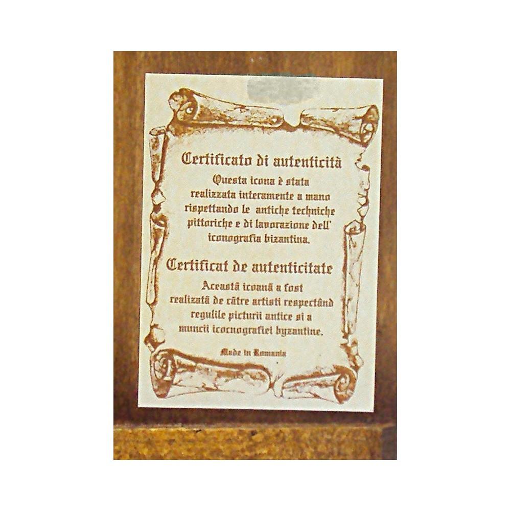 MADONNA CON BAMBINO 18X22