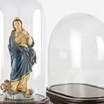 Campane di Vetro per Statue